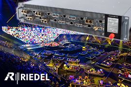 Riedel Solutions center stage at Eurovision