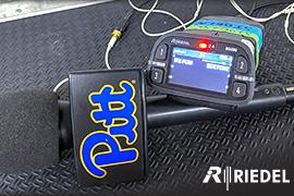 Riedel Intercom systems deployed at Pitt Athletics