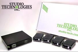 Studio Technologies releases new Dante Intercom Kits