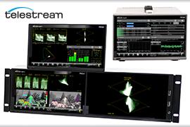 Telestream unveils New PRISM Monitors