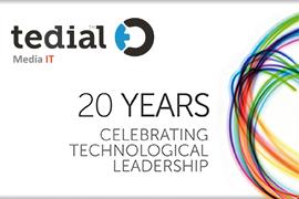 Tedial Celebrates Twentieth Anniversary