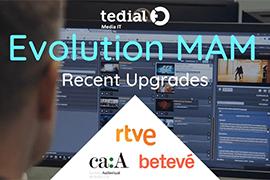 Trio of Spanish Tedial Customers Upgrade to Evolution MAM