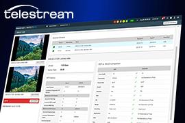 Telestream Introduces Extended Inspect 2110 Monitoring Platform