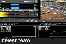 Telestream 2110 IP Monitoring Helps CCTV Launch Live 8K Ultra HD Channel
