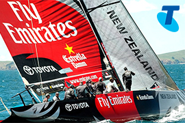How Telstra delivered record-breaking America's Cup