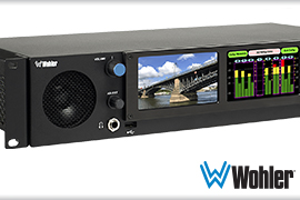 Wohler adds HDR detection and Dolby decoding option
