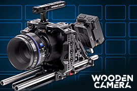 Wooden Shipping New Blackmagic Accessories