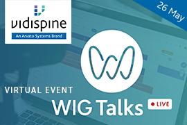 Arvato Systems' Vidispine team at WIG Talks Live